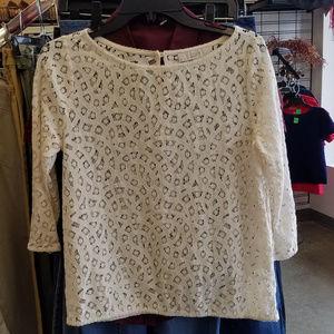 Ann Taylor LOFT lace top